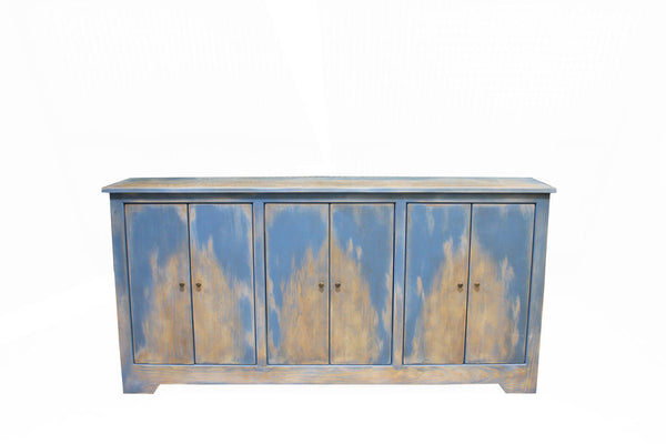 Weathered Contemporary Rustic Sideboard