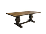 Solid Walnut Trestle Table