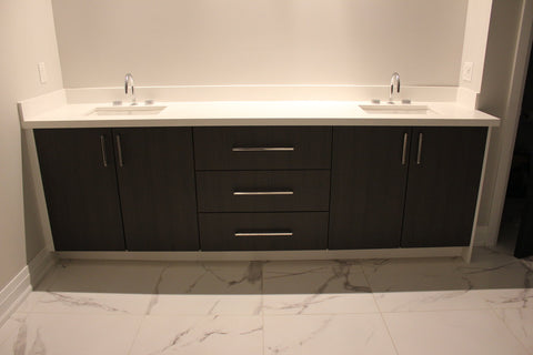 Cortleigh Double Sink Vanity | Contemporary Ensuite Double Sink Vanity