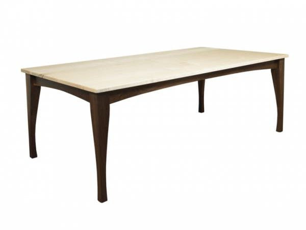 The Crosstown Table | Contemporary Solid Wood Dining Table