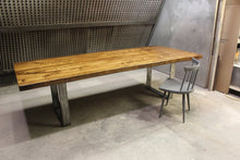 Load image into Gallery viewer, Richmond Dining Table | Contemporary Rectangular Live Edge UBase Table