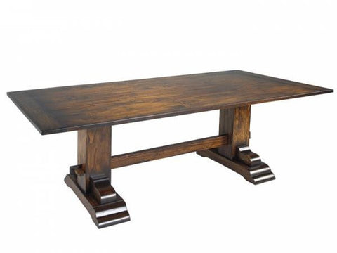 The Trestle Table | Rectangular Formal Contemporary Trestle Table