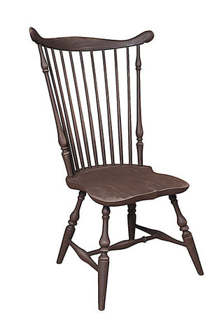 Traditional Fan Back Side Chair | Traditional Wooden Windsor Chair