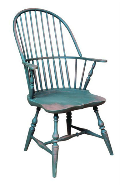 Traditional Sack Back Arm Chair | Traditional Wood Windsor Arm Chair