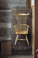 Load image into Gallery viewer, Traditional Comb Back Arm Chair | Solid Wood Dining Windsor Chairs