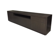 Load image into Gallery viewer, Willowdale TV Console | Large Wood Contemporary TV Entertainment Unit
