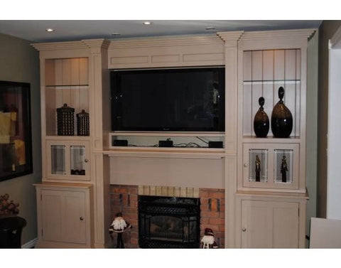 Custom Built-In Wall Unit 2