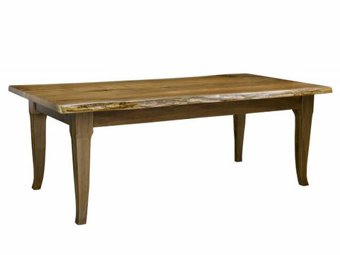 Contemporary Live Edge Walnut Dining Table | Rustic Dining Table