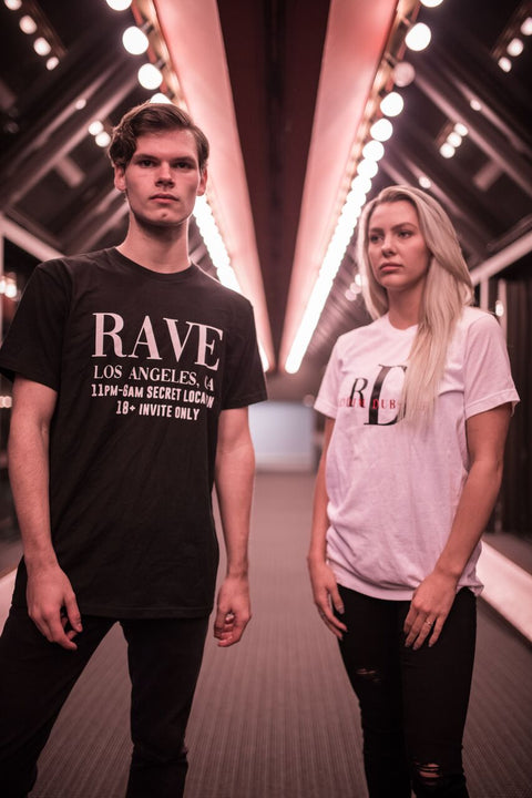 RIDDIM & DUBSTEP TEE - We Rave Hard