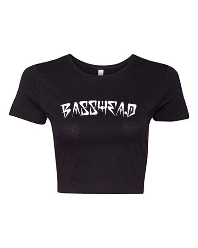 Basshead Crop Top - We Rave Hard