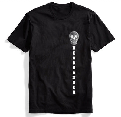 Headbanger Tee - We Rave Hard