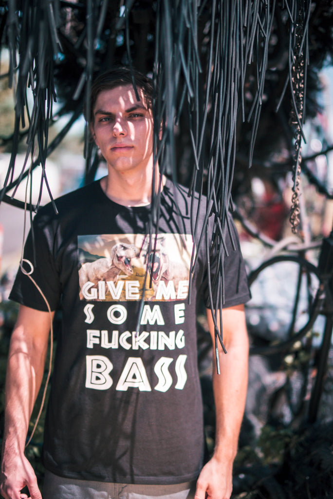 "TREX ""GIVE ME BASS"" T-Shirt - We Rave Hard"