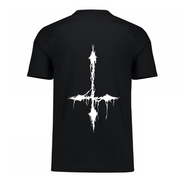 DubStep Religion Cross Tee - We Rave Hard