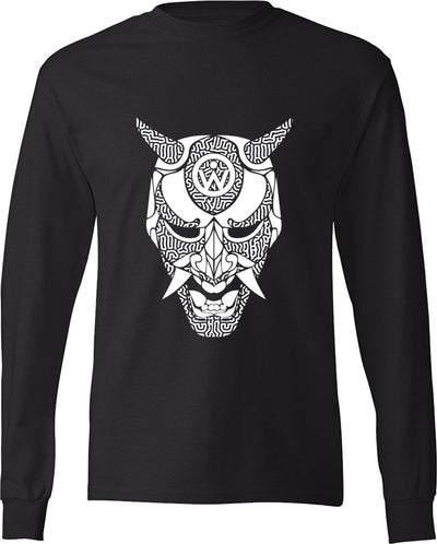 W.R.H. Rave Samurai Long Sleeve Tee - We Rave Hard
