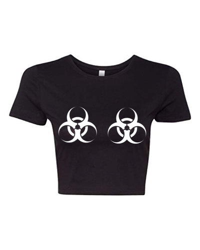 BIOHAZARD RAVE BAE CROP TOP