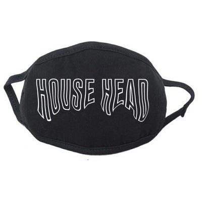 HOUSE HEAD FACE MASK (Reflecive Print)