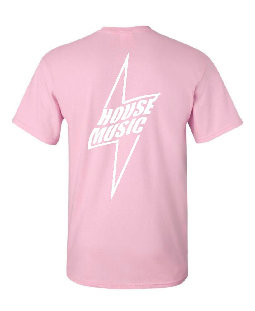 House Music Lightning Tee (Reflecive Print)