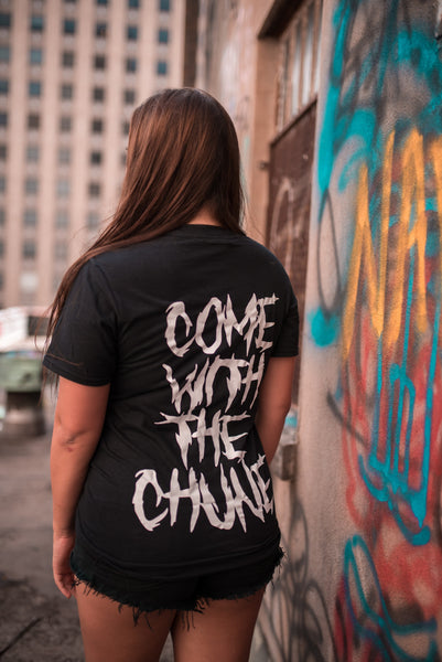 Come With The Chune Acid Melt We Rave Hard Tee - We Rave Hard