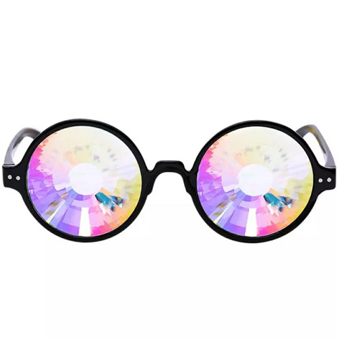 We Rave Hard - Kaleidoscope Glasses - We Rave Hard