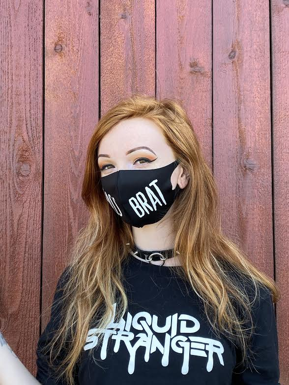 BASS BRAT FACE MASK
