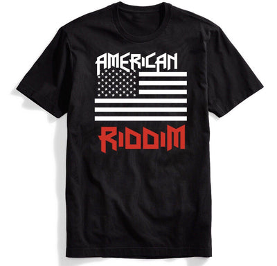 American Riddim Flag Tee - We Rave Hard