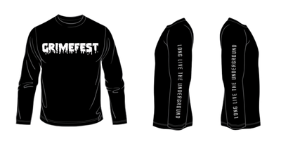 GRIMEFEST LONG SLEEVE TEE