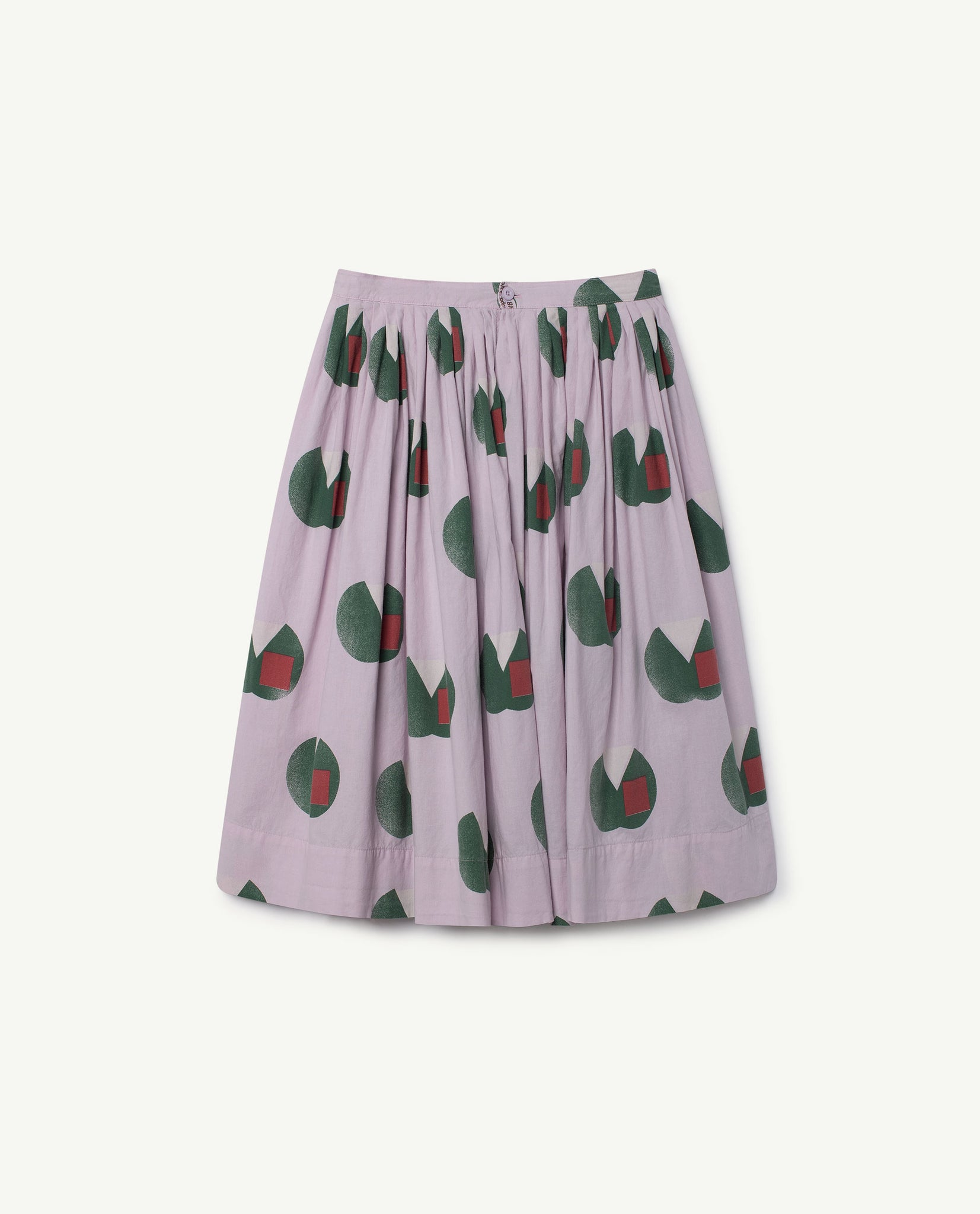 Jellyfish kids skirt - purple apples