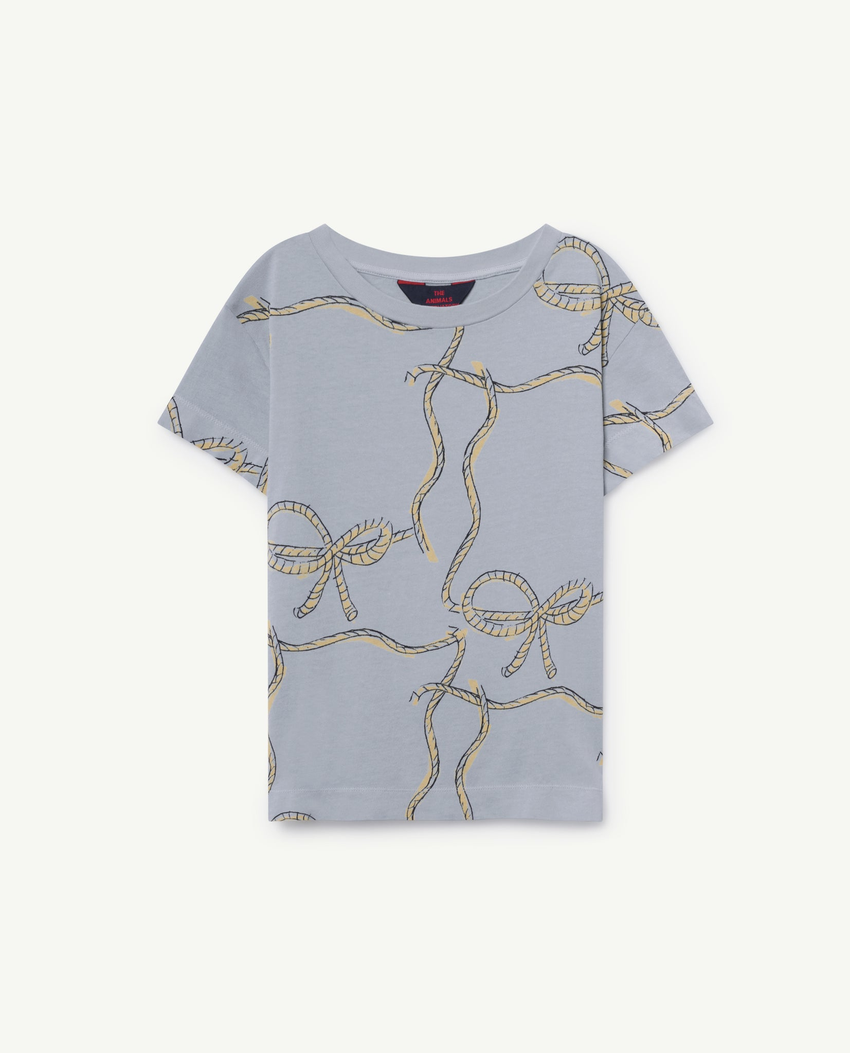 ROOSTER KIDS T-SHIRT // BLUE ROPES