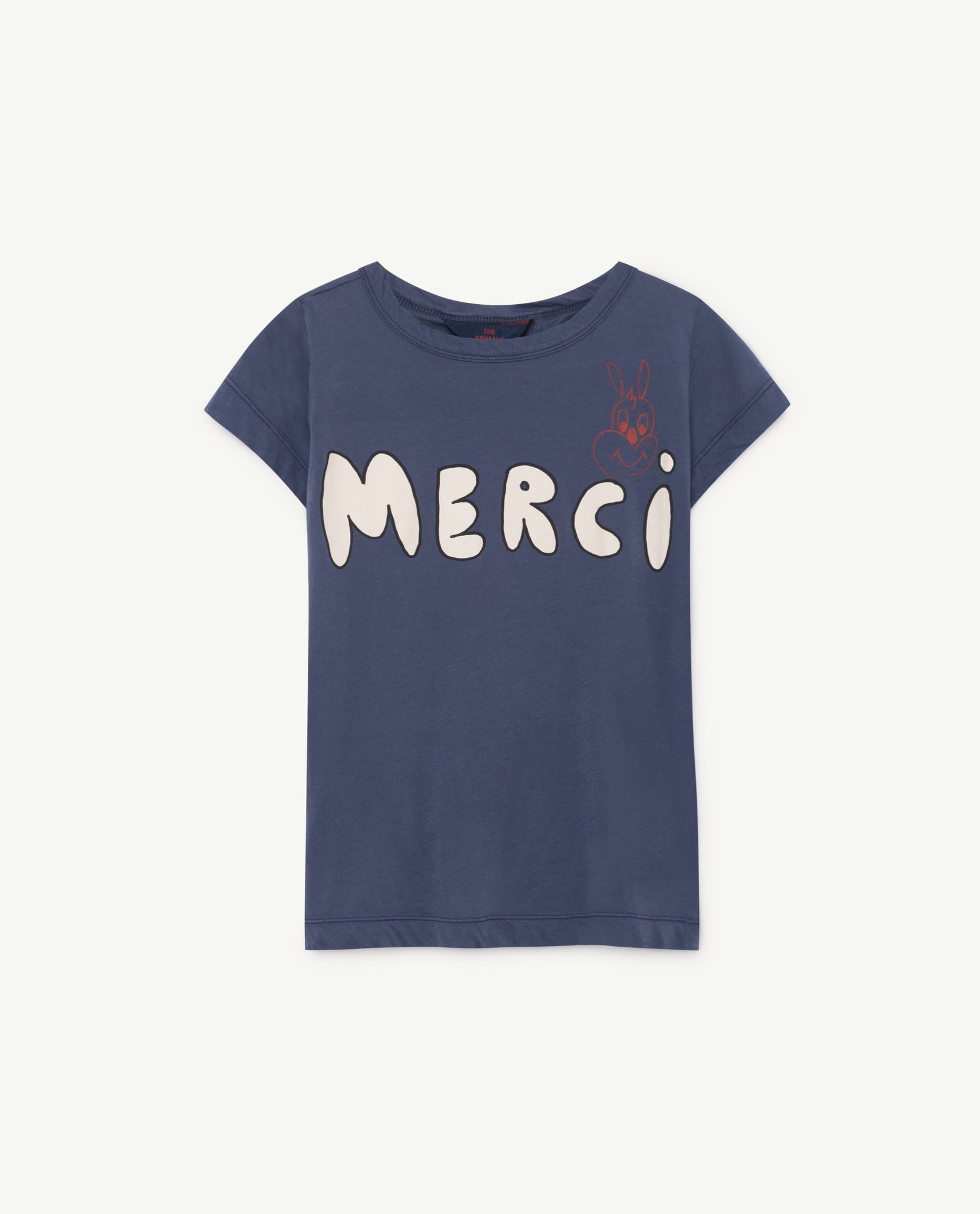 HIPPO KIDS T-SHIRT // BLUE MERCI