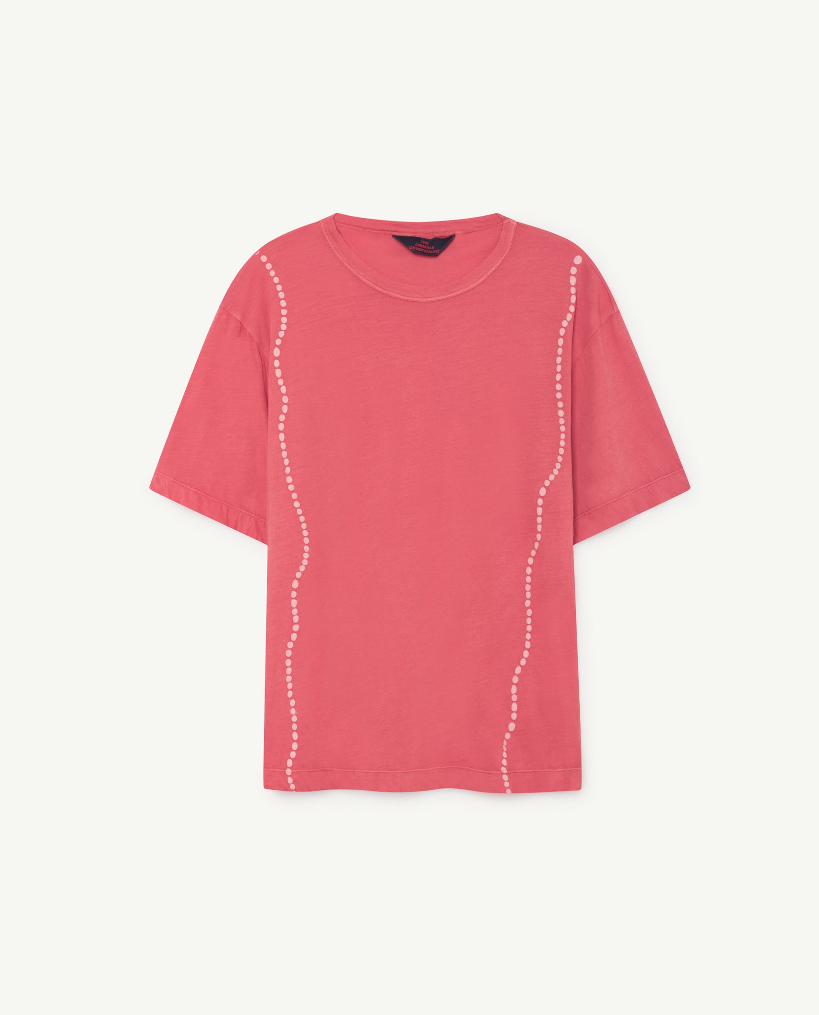ROOSTER OVERSIZE KIDS T-SHIRT // RED SHELLS