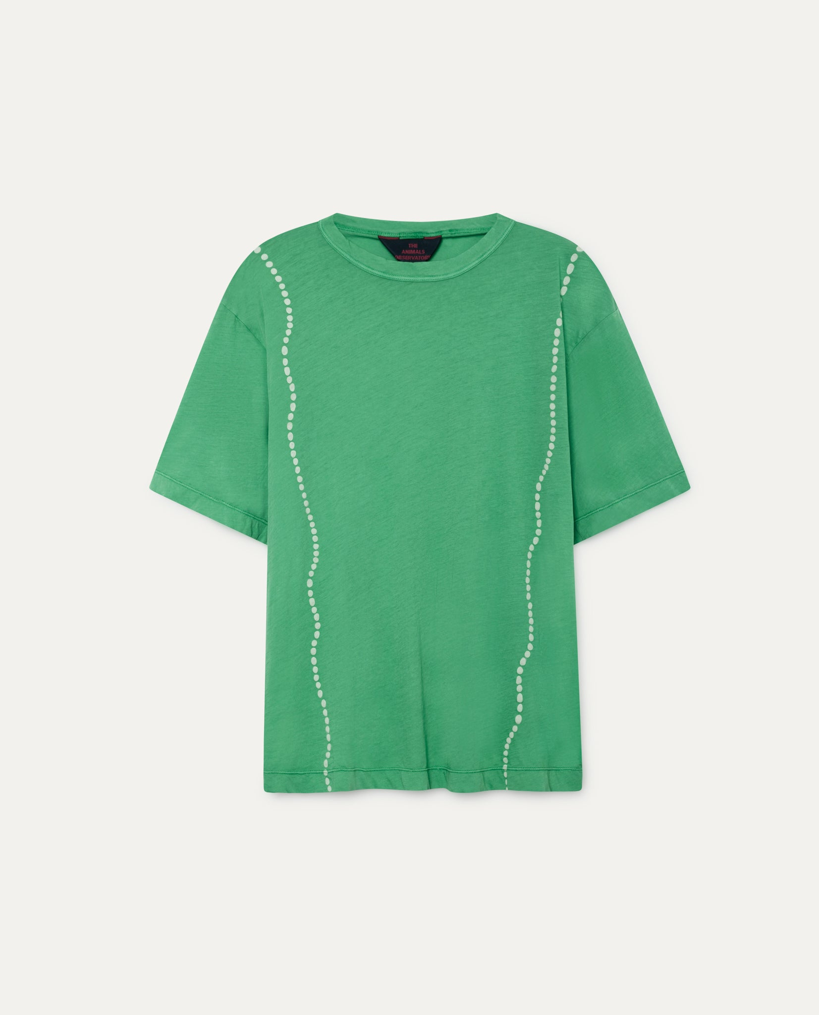 ROOSTER OVERSIZE KIDS T-SHIRT // GREEN SHELLS