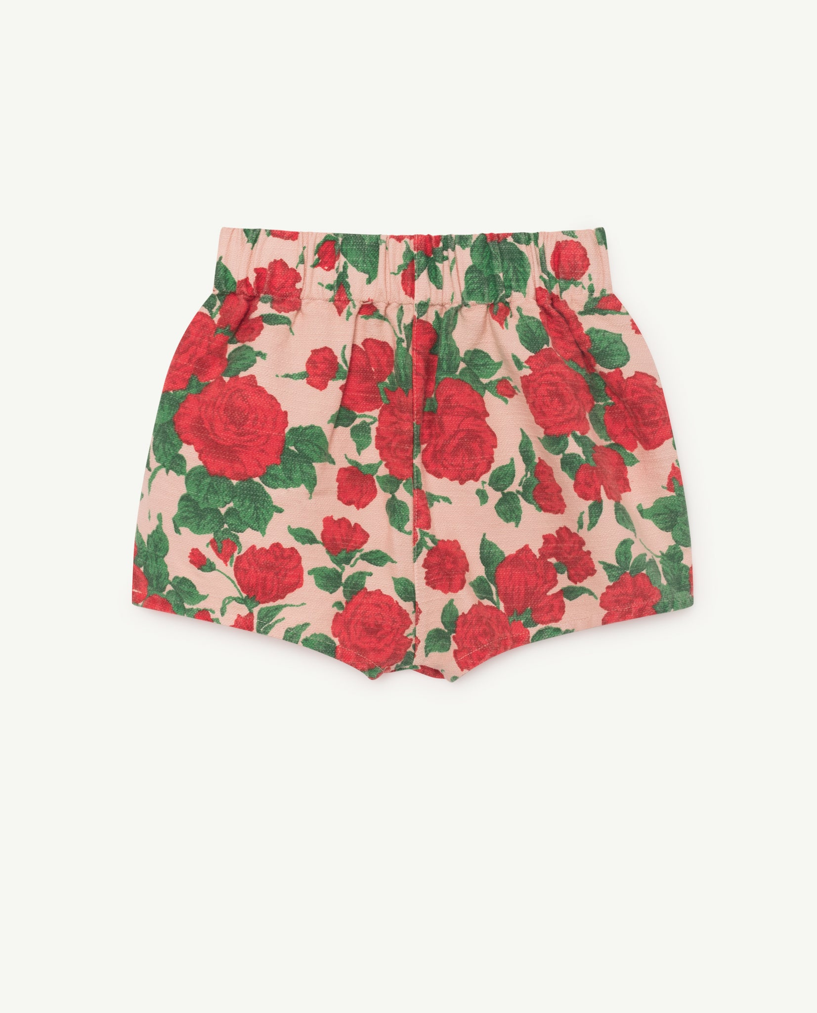 CLAM KIDS SHORTS // NUDE ROSES