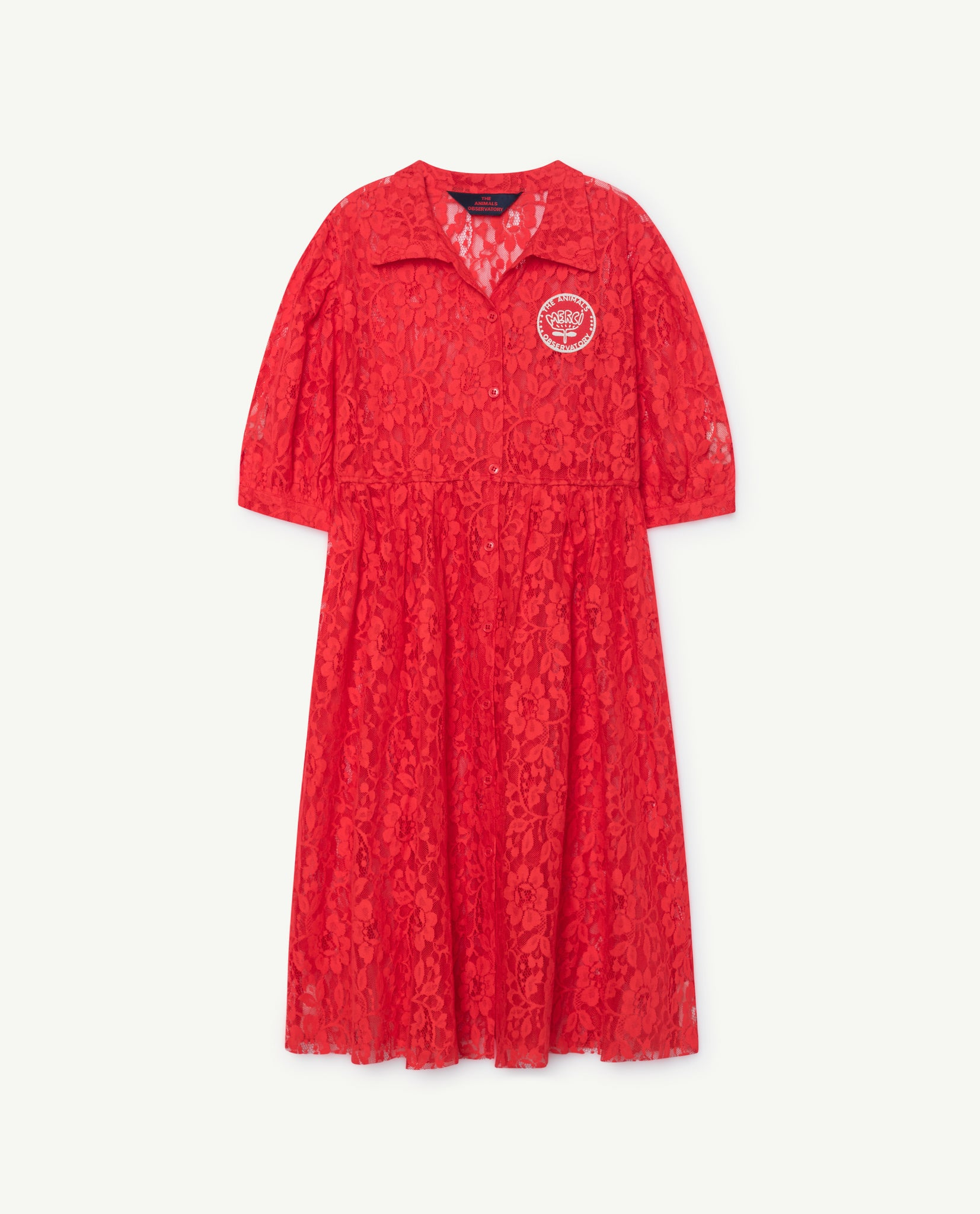 DOLPHIN KIDS DRESS // RED