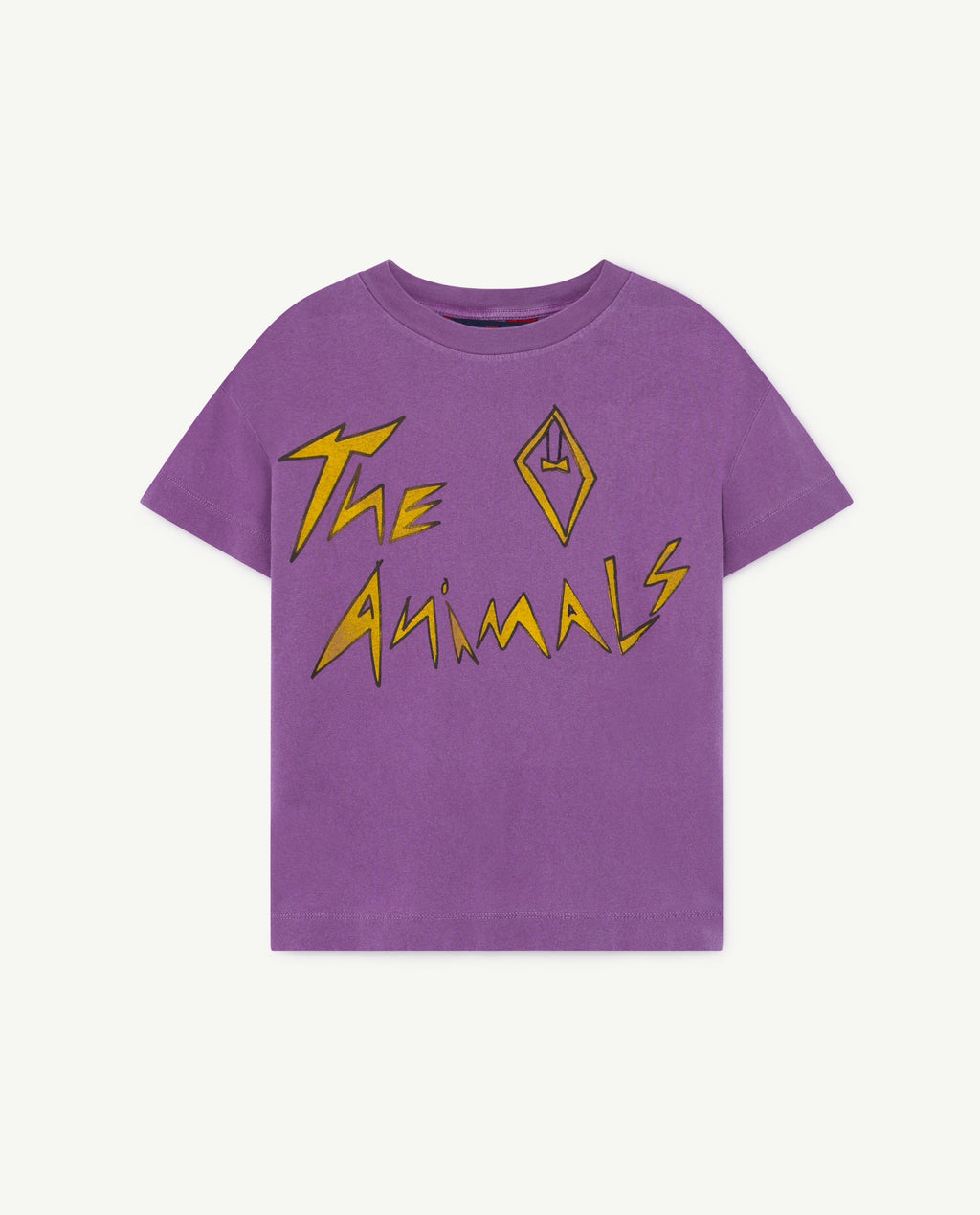 Rooster Kids T-Shirt - Violet The Animals