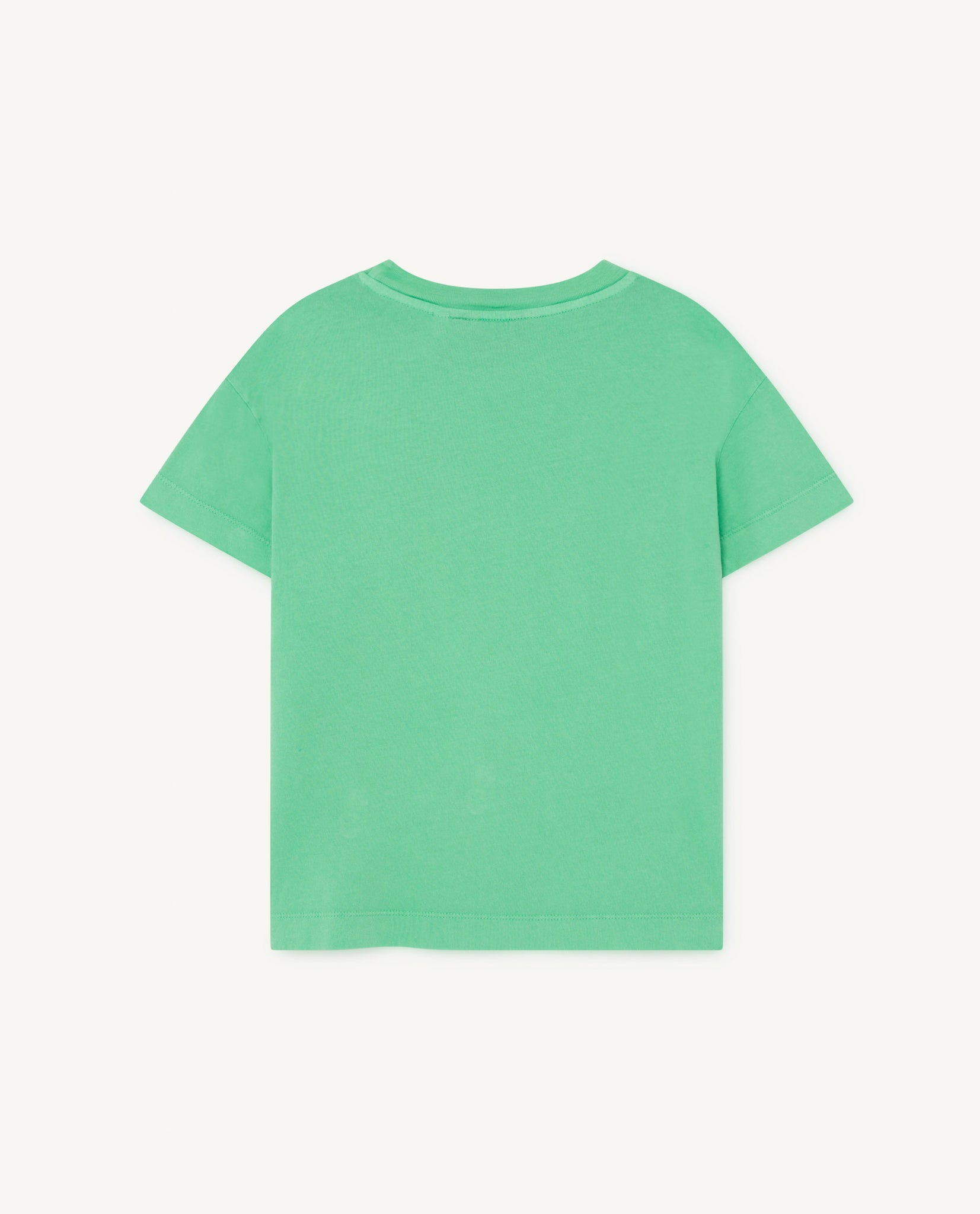 Rooster Kids T-Shirt - Green Sun