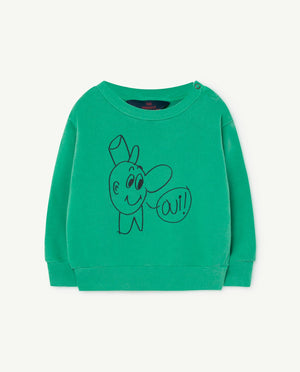 Bear Babies Sweatshirt - Green Oui