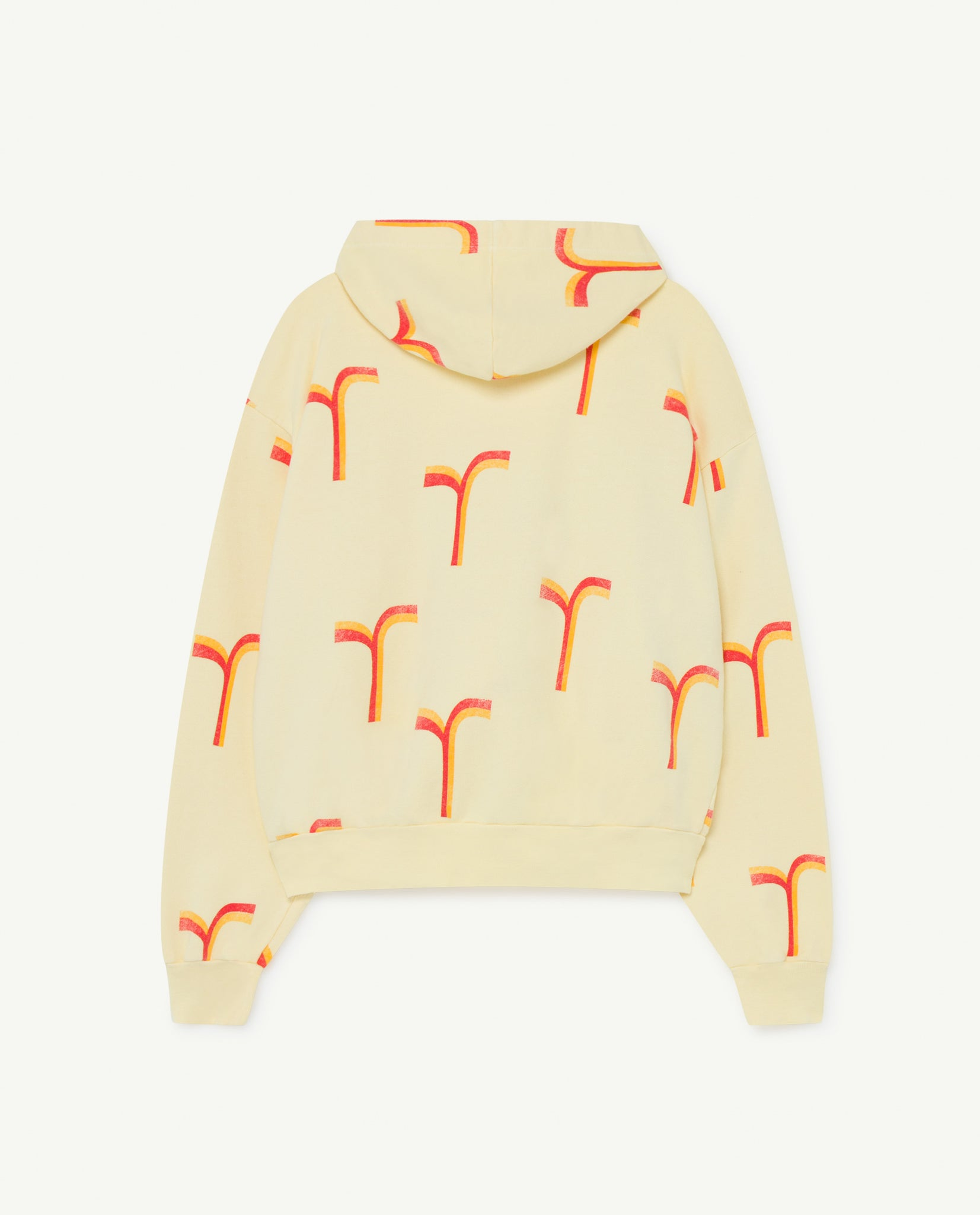Seahorse Kids Sweatshirt - Yellow Geometric