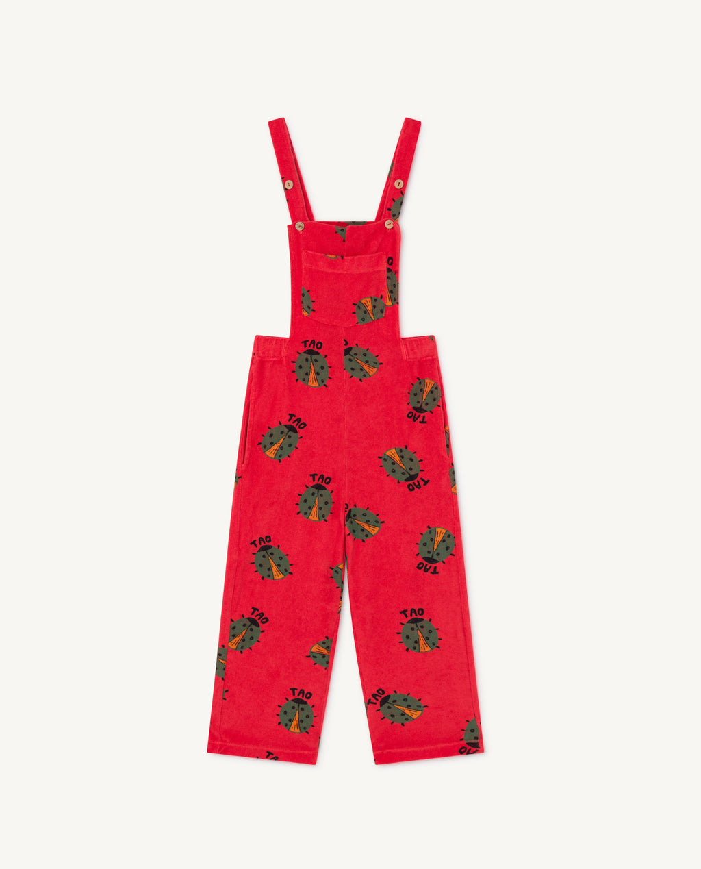 Eagle Kids Dungaree - Red Lady Bug
