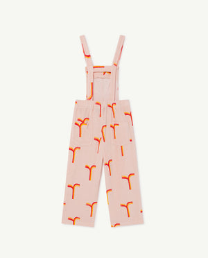 Eagle Kids Dungaree - Rose Geometric