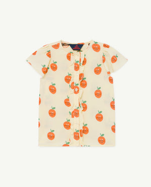 Parakeet Kids Blouse - Yellow