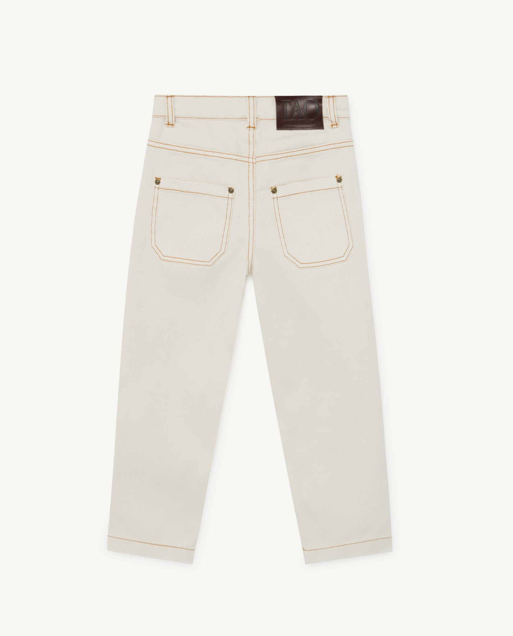 Ant Kids Trousers - White The Animals