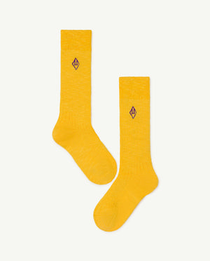 Skunk Kids Socks - Yellow Logo