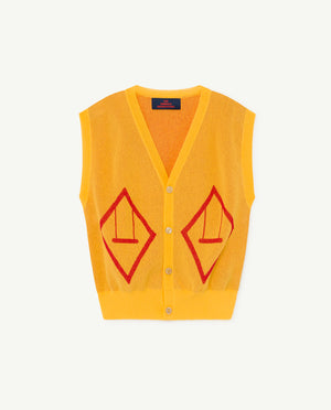 Bat Kids Vest - Yellow