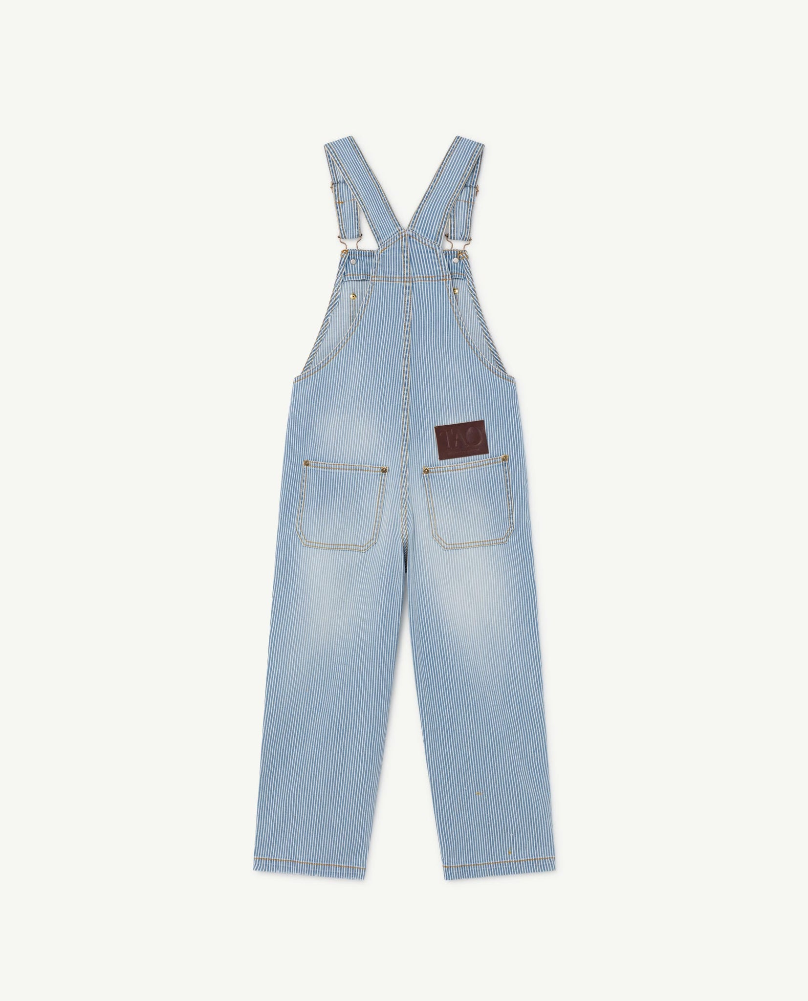 Stripes Mule Kids Dungaree - Indigo Sun