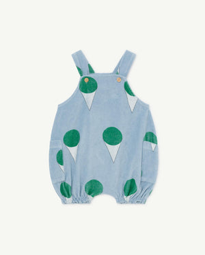 Boar Baby Dungaree - Blue Ice-cream