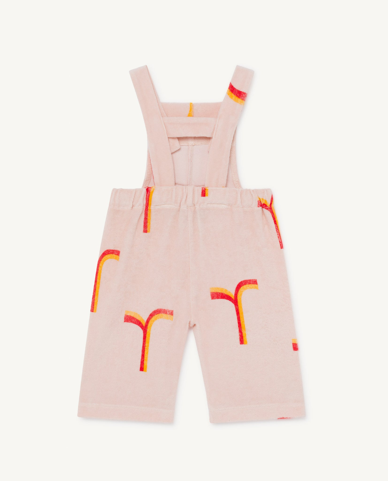 Eagle Baby Dungaree - Rose Geomatric