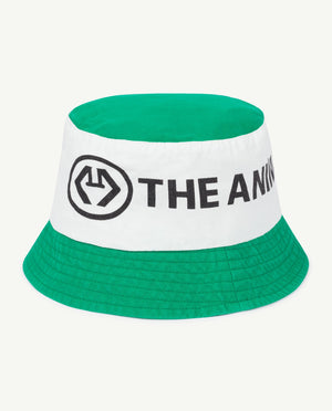 Starfish Kids Onesize Hat - Green Logo The Animals