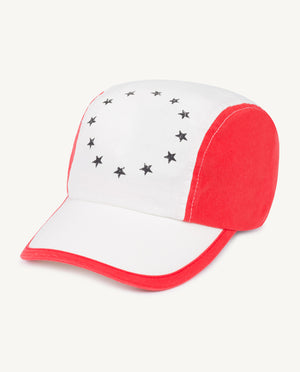 Big Hamster Adult Cap - White Stars