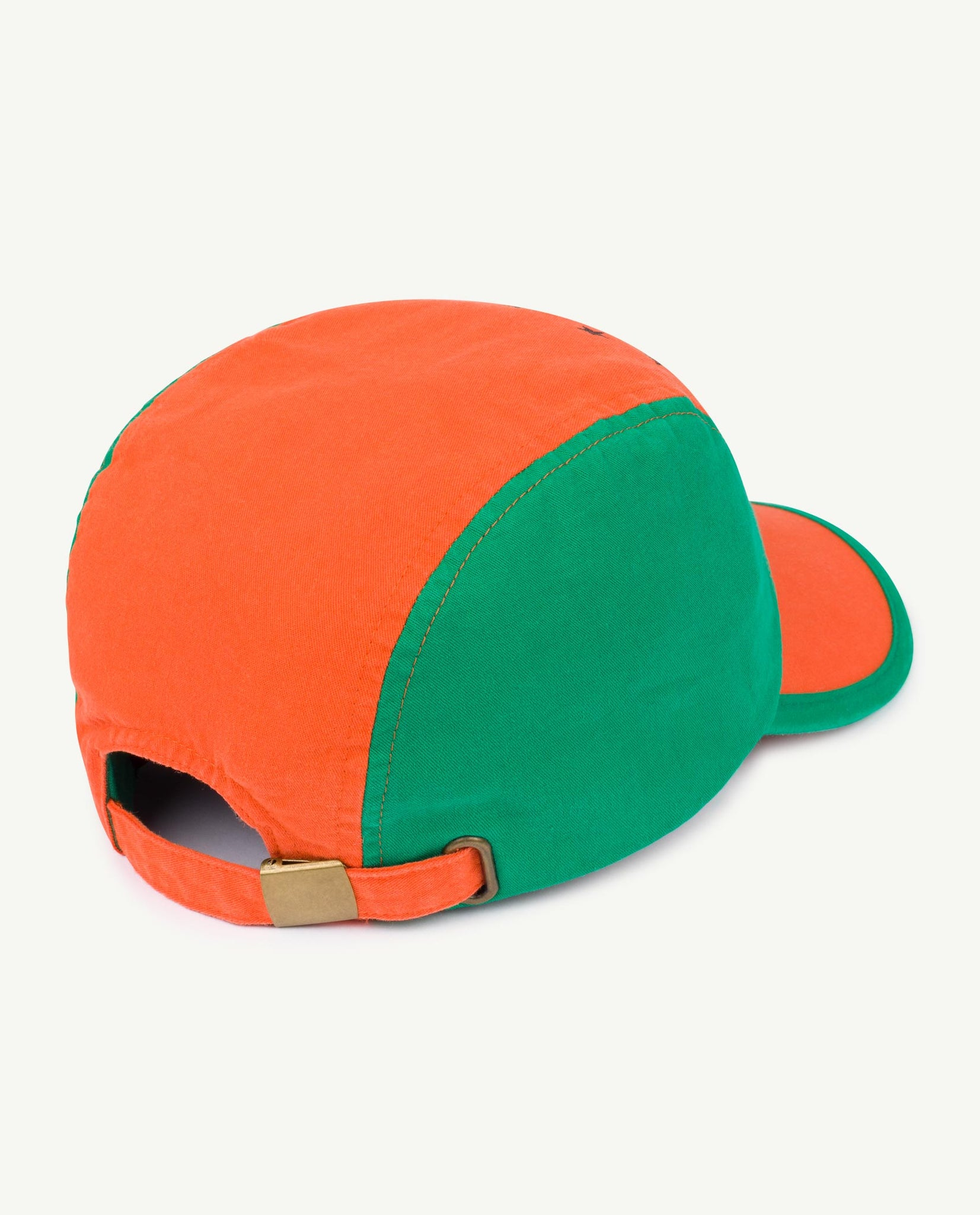 Big Hamster Adult Cap - Orange Stars