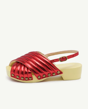 Clogs Shoes - Red Logo